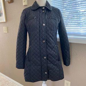 Steve Madden quilted long puffer jacket, Sz. SP
